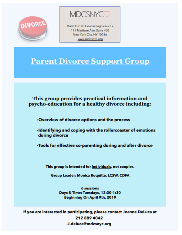 The Parent Divorce Support Group